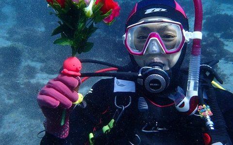 記念ダイビング~お祝い