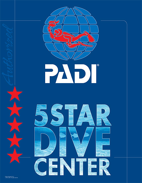 PADIの5スターダイブセンター