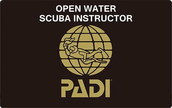 PADI インストラクターカード