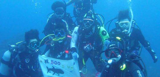 K様500本記念ダイビング