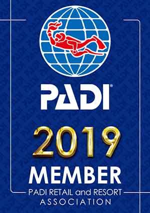 PADI正規登録店2019