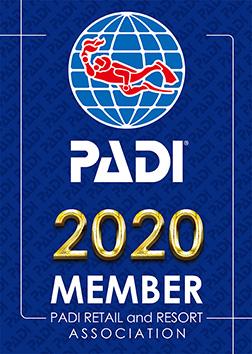 PADI正規登録店2020
